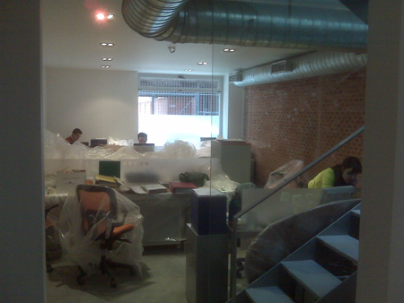 zona trabajo Nuevas oficinas Activolution