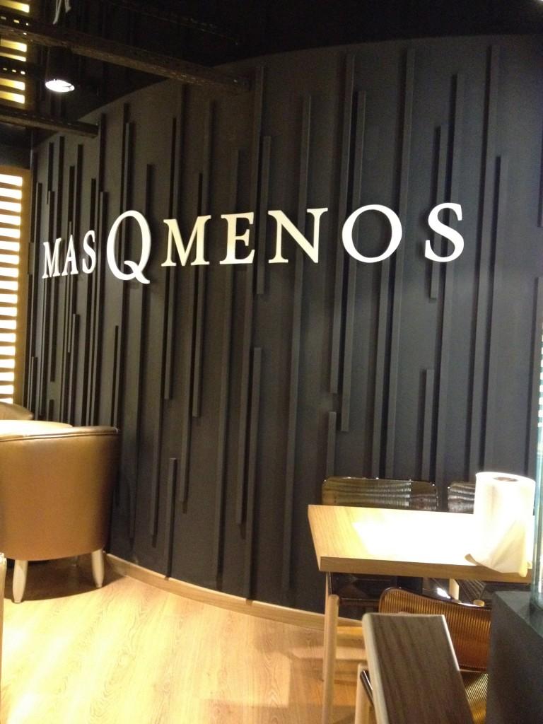 Zona VIP MasQMenos en Madrid